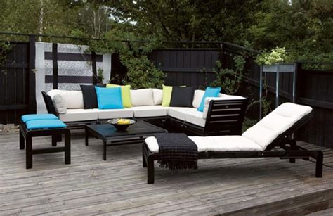 25 modern outdoor furniture sets that brighten up backyard