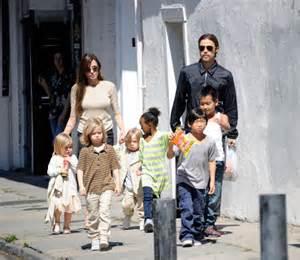 Brad Pitt Angelina Jolie Kids