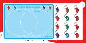 Venn Diagram Christmas Sorting Activity
