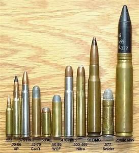 Handgun Bullet Caliber Comparison Chart 1000 Images About патроны и снаряды On Pinterest