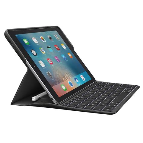 Amazoncom Logitech Create Ipad Pro 97 Backlit Keyboard Case  Smart Connector  Ios Shortcuts