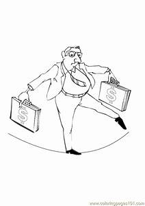 Business Man Coloring Page - Free Others Coloring Pages ...