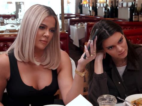 Kris Jenner Told Kendall And Khloe Kardashian About Her