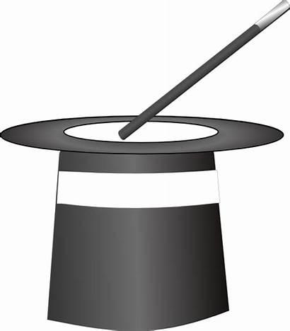 Magic Hat Clipart Clip Magician Vector Clker