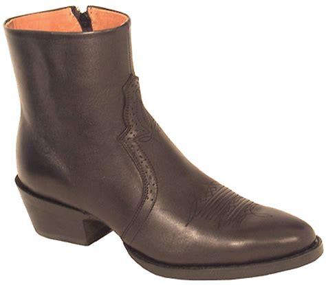 Roadwolf Boots Mens Side Zipper