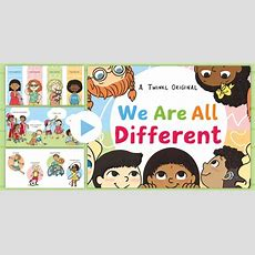 We Are All Different Story Powerpoint  Difference, Inclusion, Friendship