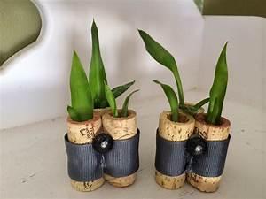 Kreative Tische Selber Machen : deko selber machen korken planters freshouse ~ Markanthonyermac.com Haus und Dekorationen