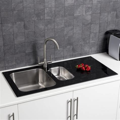 shallow sinks in kitchen kitchen sinks plumbworld 5173