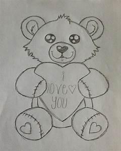 Best Photos of Teddy Bear Drawings - Teddy Bears Pencil ...
