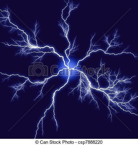 abstract lightning illustration black blue background
