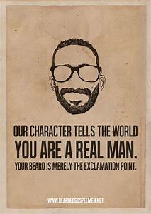 Minimalist Post... Manly Moustache Quotes