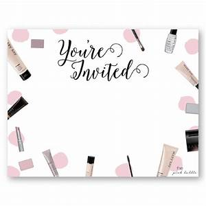 mary kay party invitations to inspire you thewhipper for With mary kay invite templates