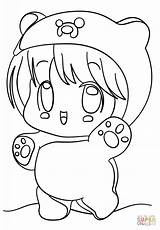 Kawaii Coloring Pages sketch template