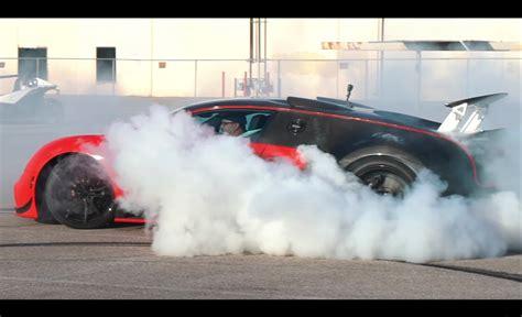 Watch a bugatti veyron grand sport vitesse wrc do a sick 4wd burnout! Video: Bugatti Veyron gets rear-wheel drive conversion | PerformanceDrive