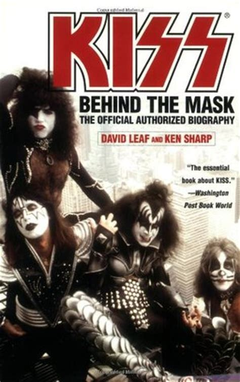 kiss   mask official authorized biography  david leaf reviews discussion