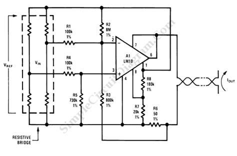 Current Loop Bridge Sensor Transmitter Simple