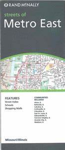 TheMapStore | Metro East St. Louis, Illinois street map