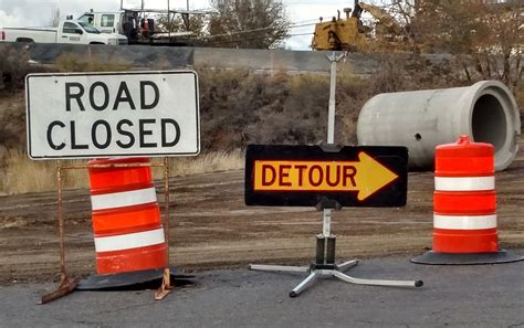GJ Detour Sign Directs Motorists to Unintended Place