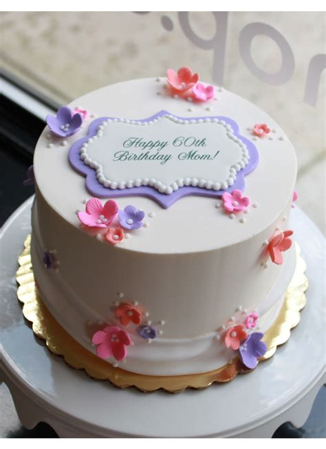 Pretty Posies Birthday Cake  Whipped Bakeshop
