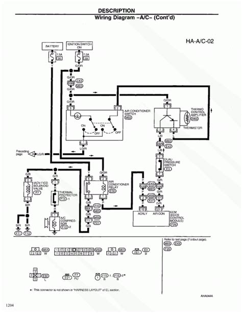 simple 2000 nissan frontier wiring diagram 2000 nissan