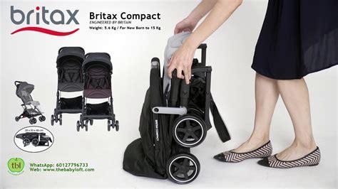 britax compact stroller malaysia britax autofold stroller