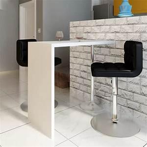 Stehtisch Weiß : bartisch beistelltisch esstisch stehtisch wei mit 1 beine ~ Pilothousefishingboats.com Haus und Dekorationen
