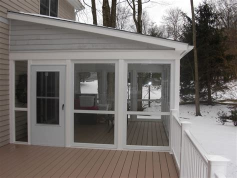 glassed  porch cost home design ideas