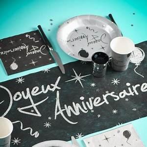 Chemin De Table Anniversaire : chemin de table anniversaire argent drag es anahita ~ Melissatoandfro.com Idées de Décoration
