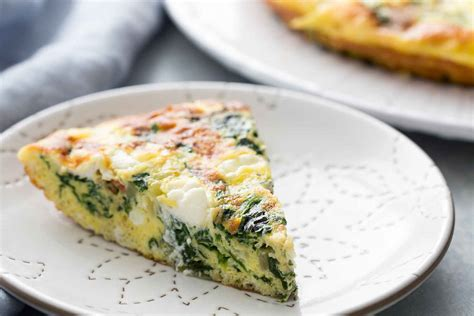 moroccan cuisine spinach frittata recipe simplyrecipes com
