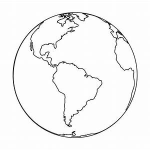 earth outline clipped by salvsnena liked on Polyvore ...