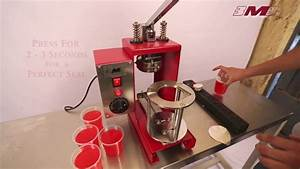 Manual Cup Sealing Machine  For Aluminium Foils