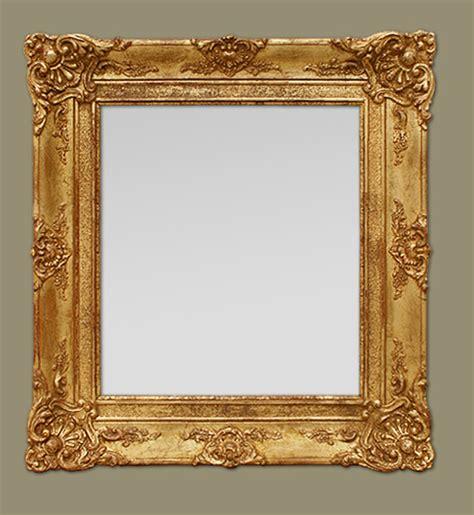 miroir doré ancien glace miroir ancien 233 poque restauration