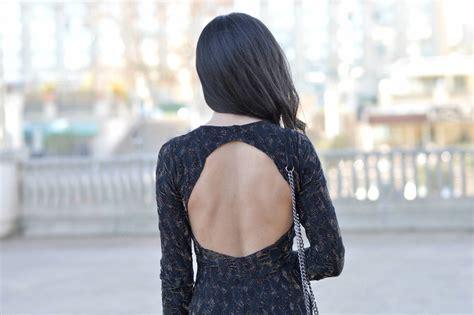 si鑒e pour le dos robe dos nu un look facile pour le réveillon june sixty five mode
