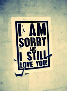 I M Sorry And I Love You Quotes