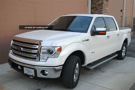 2013 Ford F 150 Ecoboost by 2013 Ford F150 Lariat 4x4 Ecoboost Supercrew White
