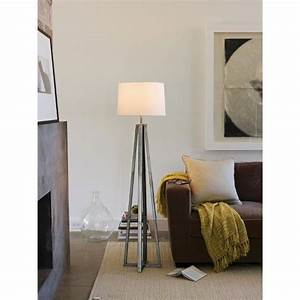 Target 59 thresholdtm metal linear floor lamp collection for Threshold floor lamp metal shade