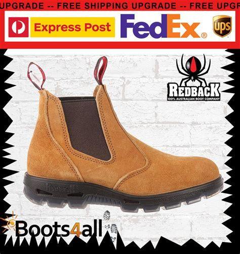 New Redback Work Boots Ubba Easy Escape Soft Toe Suede