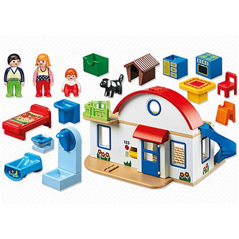 suburban house by playmobil on barstons childs play
