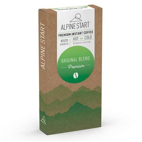 Original, which they call premium italian (an italian roast maybe?). Original Blend Instant Coffee by Alpine Start