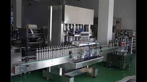 piston filler machine  jarglassplastic bottles automatic  filling nozzels filling