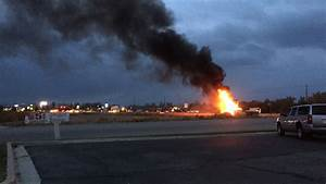 Fuel tanker caught fire after crash with SUV in Brigham ...
