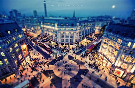 oxford circus crossing  post process fridays