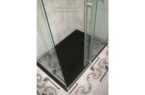 72 x 36 shower pan 72 x 36 quot black shower pan bathroom granite dalaos shadow