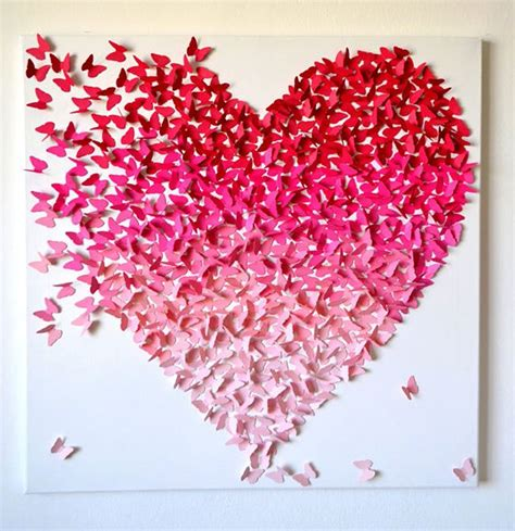 valentines day ideas   loved  butterfly