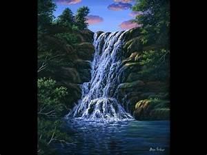 Leinwand Auf Englisch : wie malt man einen wasserfall und einen nat rlichen pool mit acryl auf leinwand ~ Eleganceandgraceweddings.com Haus und Dekorationen