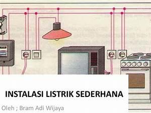 Gambar Rangkaian Instalasi Listrik Rumah Tangga
