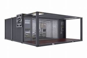 Shipping container office plans container house design for Office in container