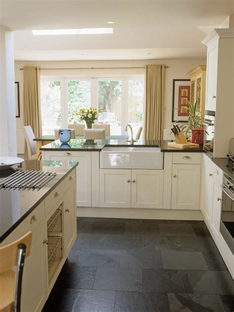 slate kitchen floors i like the big door with light flooding in and lush window 2305