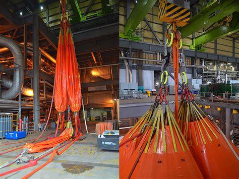 overhead crane load testing dynamic rigging hire