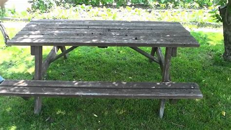 turning   picnic table   workbench easy diy